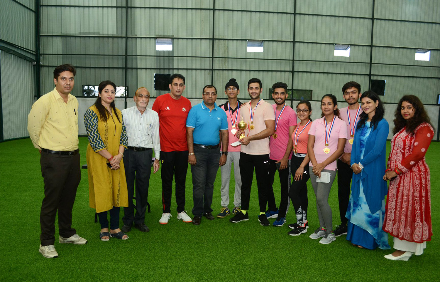 DCBM Intra College Tennis Ball Cricket Tournament