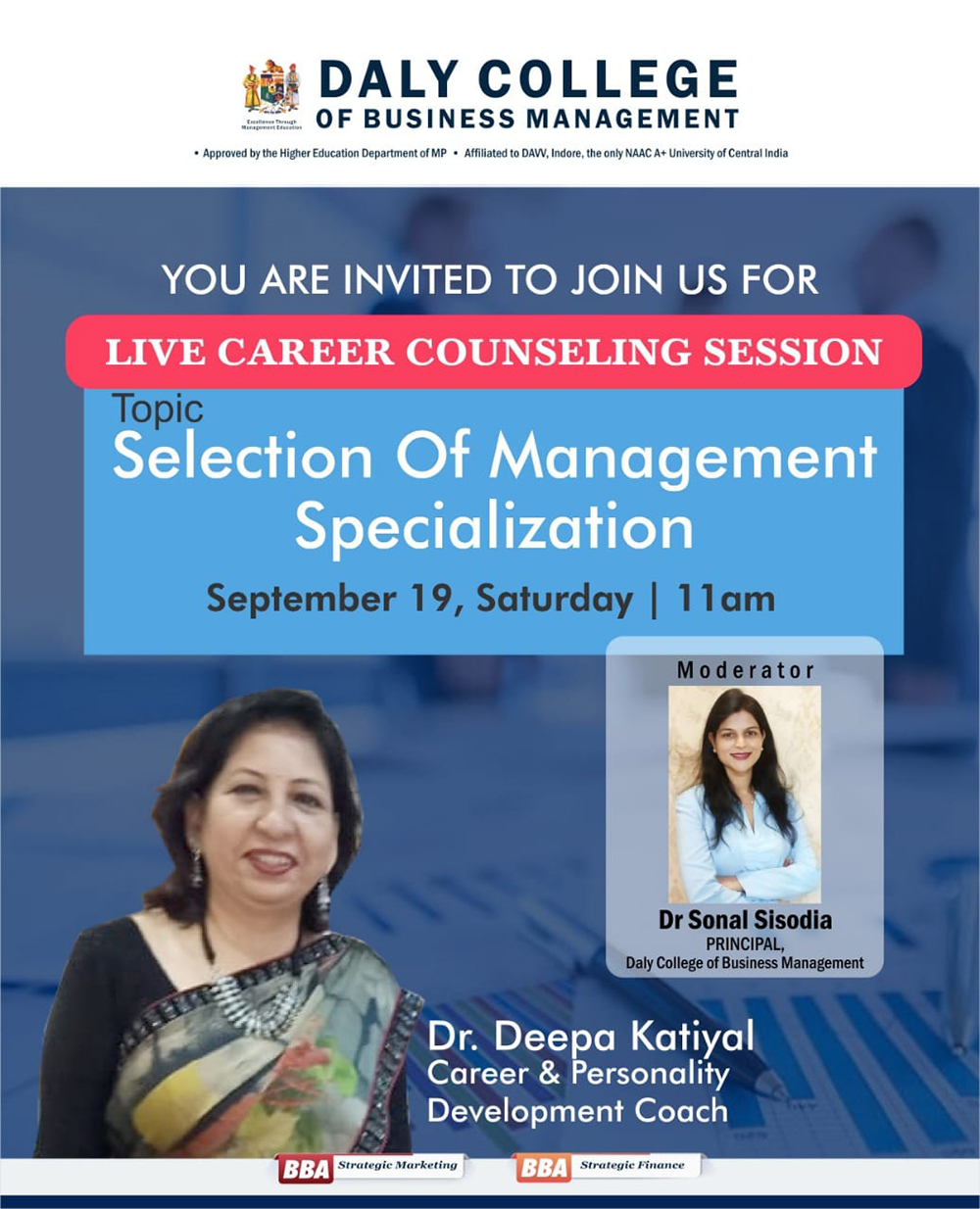Career Counselling Session by Dr Deepa Katiyal