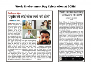 Guest Session by Padma Shri Dr. Janak Palta on World Environment Day